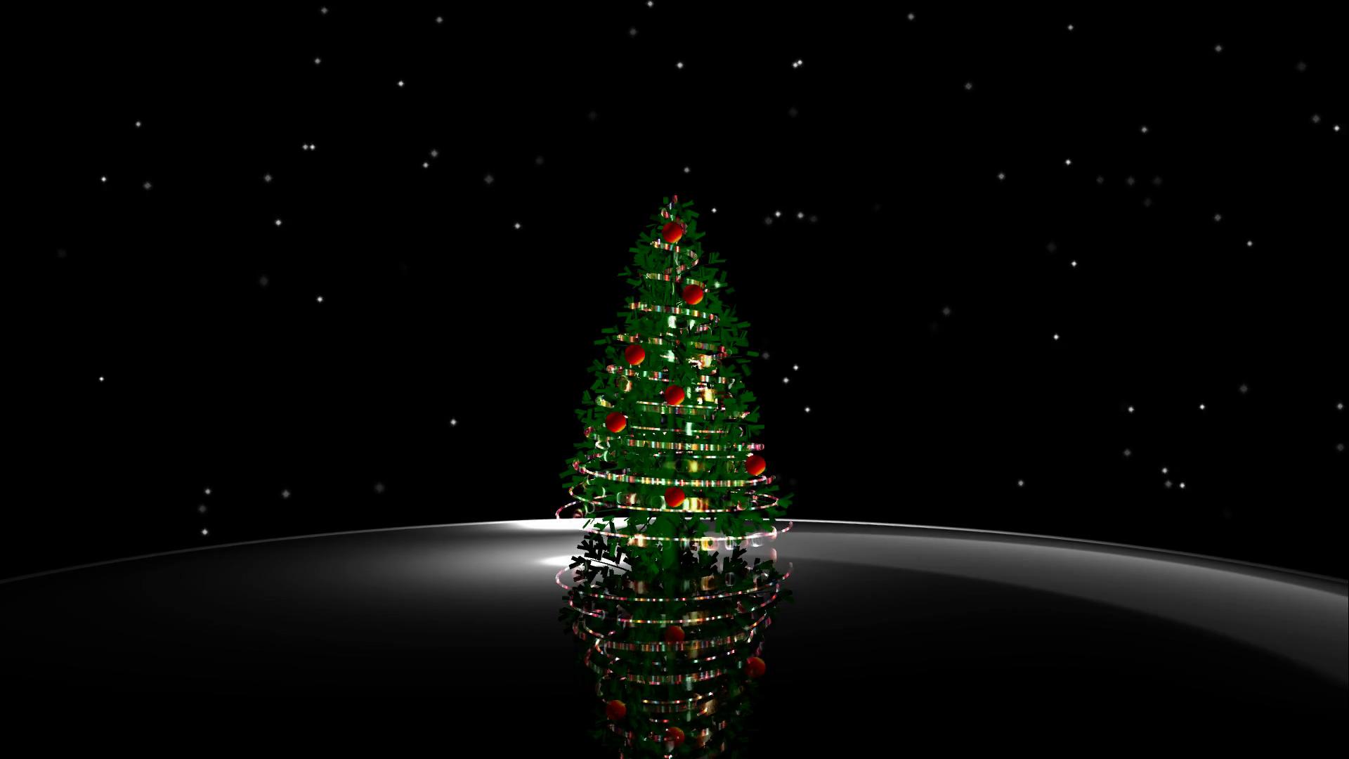Black Wallpaper Christmas Hd