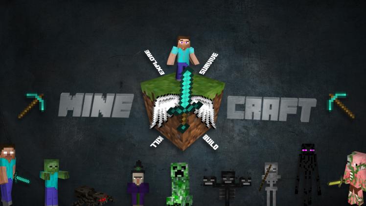 Download Minecraft Blocks Wallpaper Hd Backgrounds Download