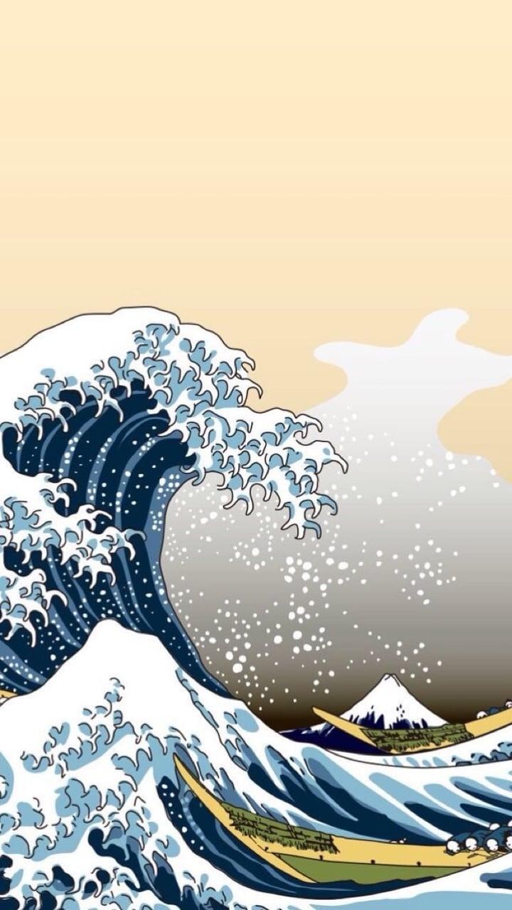 Download Kanagawa Wave Wallpaper Hd Backgrounds Download