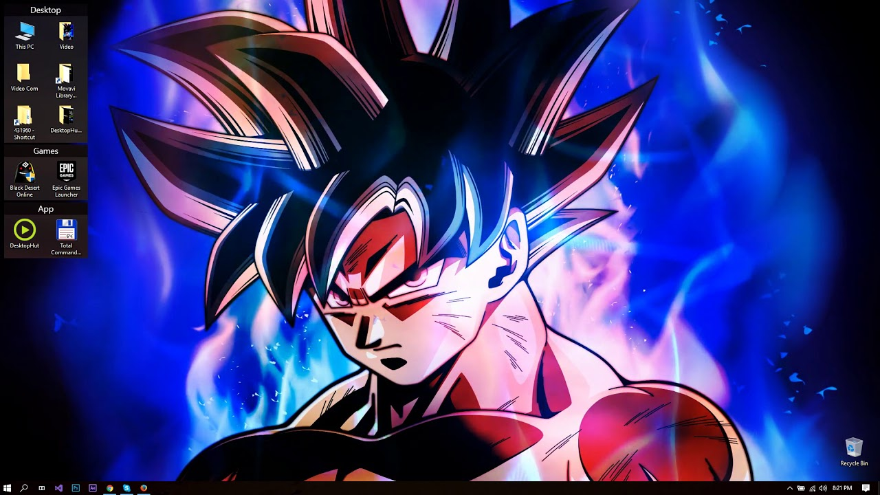 Download Ultra Instinct Goku Live Wallpaper Hd Backgrounds