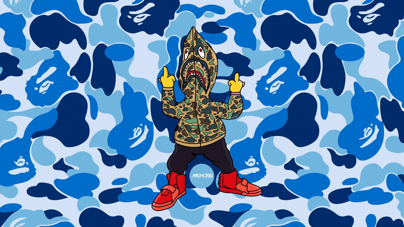 Download Bape And Supreme Wallpaper Hd Backgrounds Download