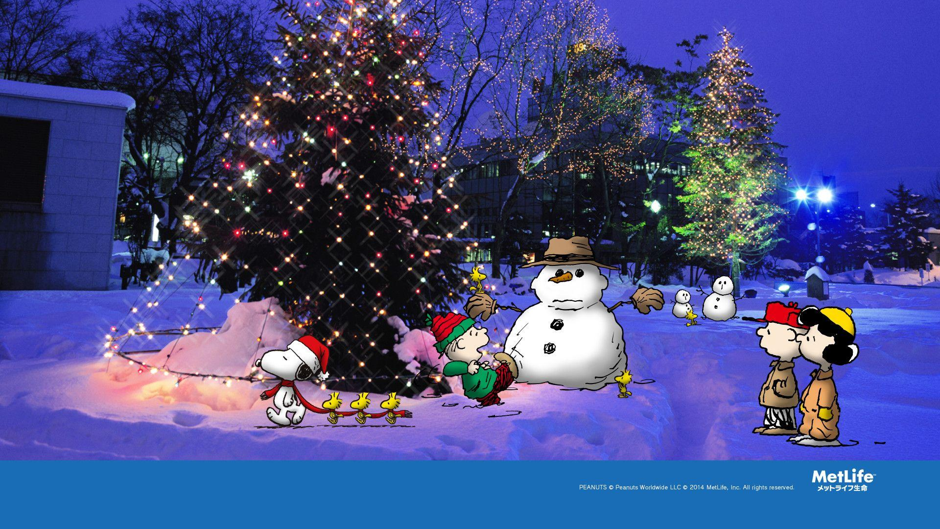 Download Snoopy Christmas Wallpaper Free Hd Backgrounds