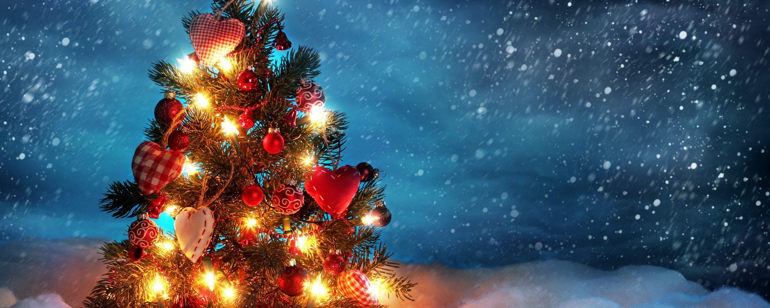 Download Dual Screen Christmas Wallpaper Hd Backgrounds