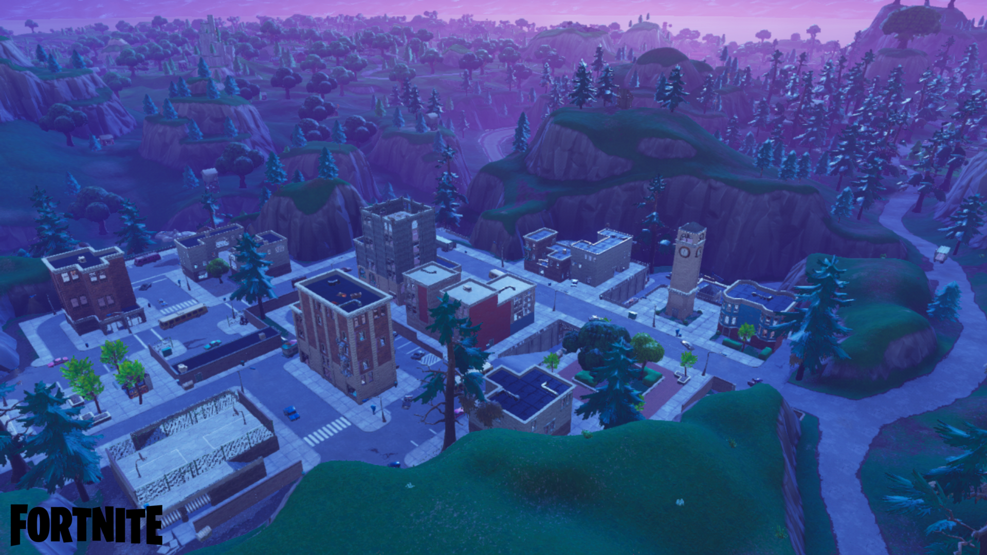 Download Fortnite Tilted Towers Wallpaper Hd Backgrounds Download Itl Cat