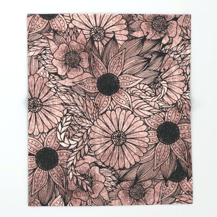 Download Rose Gold Floral Wallpaper Hd Backgrounds Download