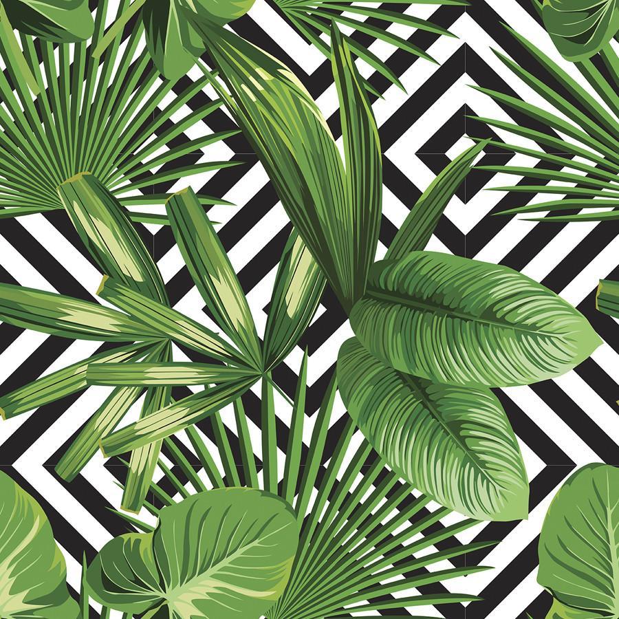 Download Banana Leaf Print Wallpaper Hd Backgrounds