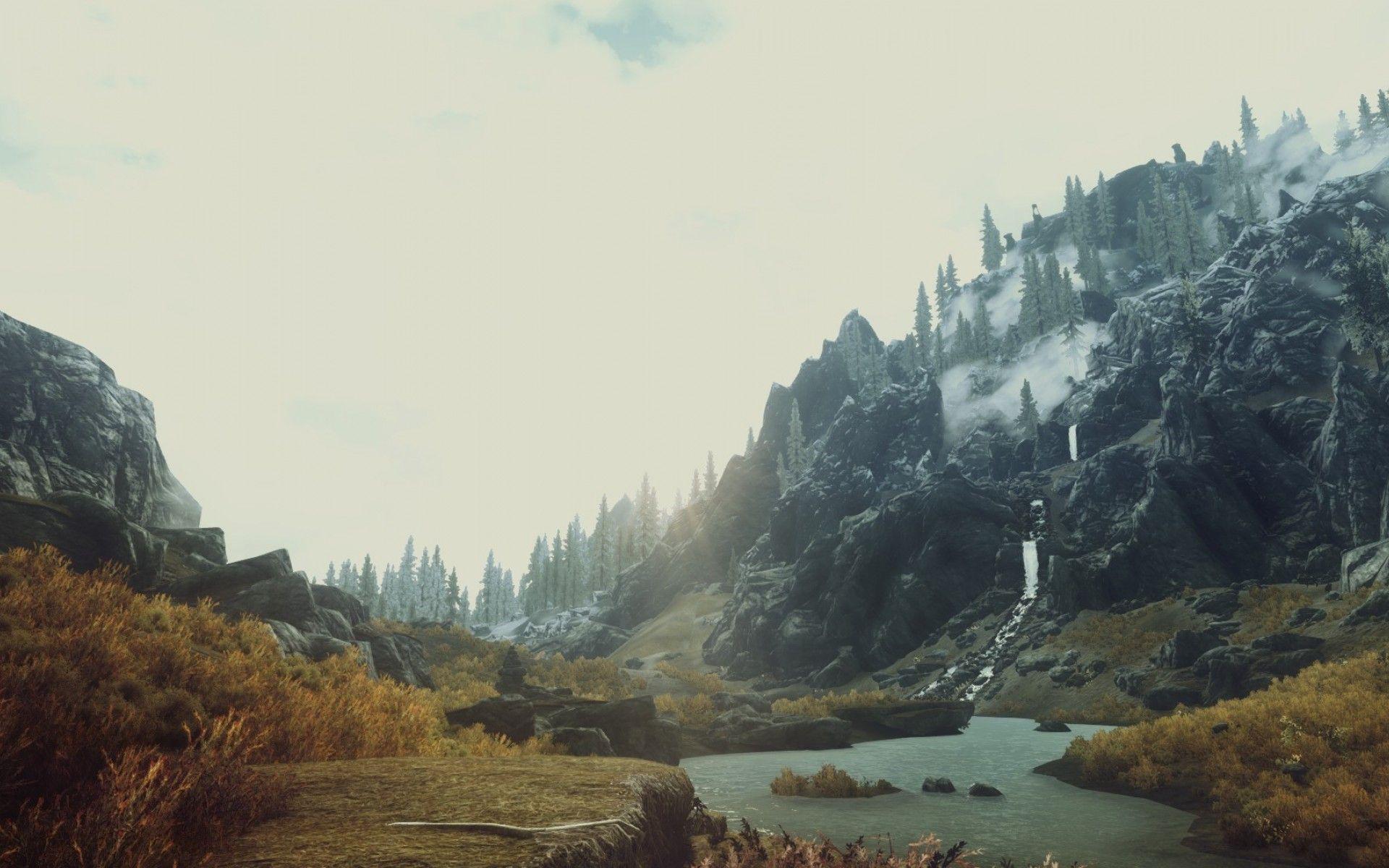 Download Skyrim Scenery Wallpaper Hd Backgrounds Download