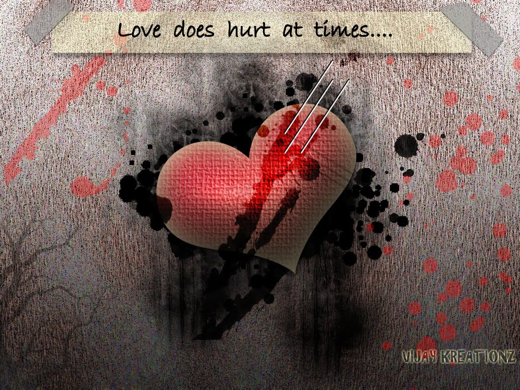 Download Love Hurt Wallpaper Hd Backgrounds Download Itl Cat