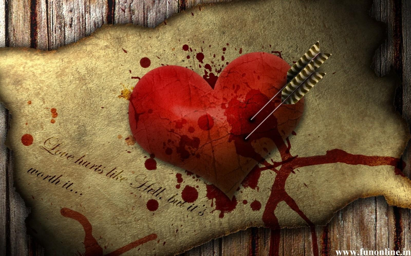 Download Love Hurt Wallpaper, HD ...