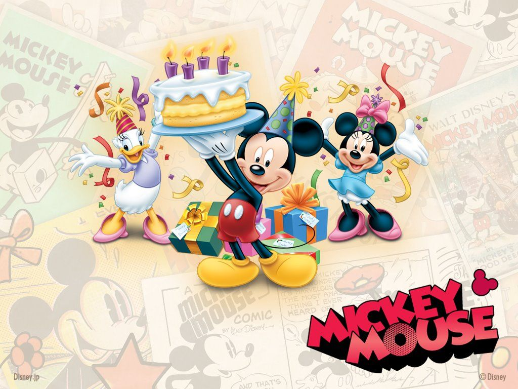 Download Mickey Mouse Birthday Wallpaper Hd Backgrounds