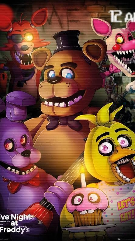 Download Five Nights At Freddy S Iphone Wallpaper Hd