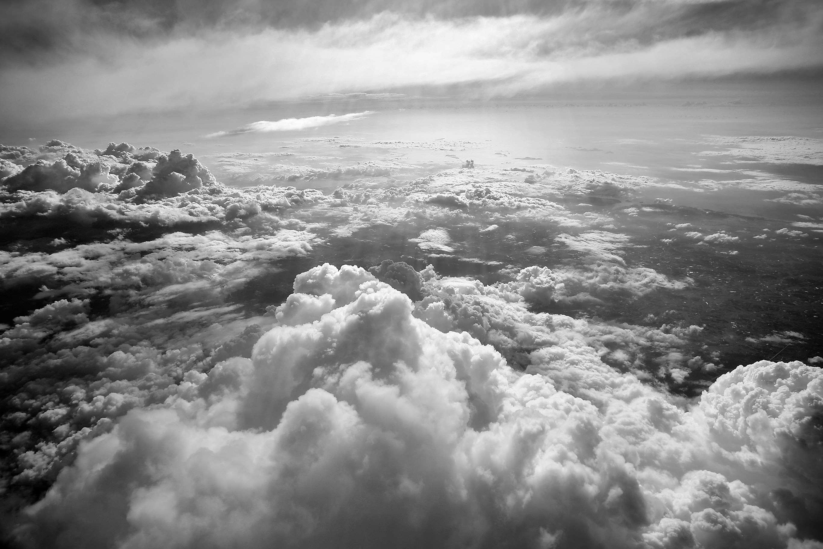 Download Black And White Cloud Wallpaper Hd Backgrounds