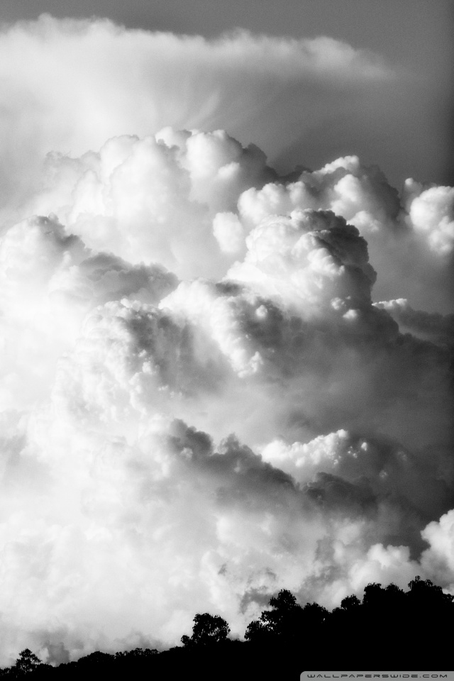 Download Black And White Cloud Wallpaper Hd Backgrounds Download