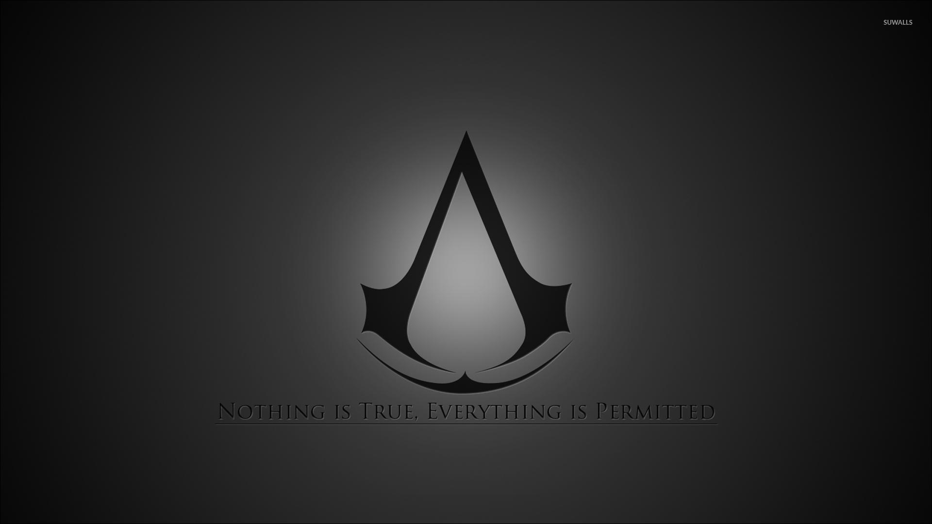 Download Assassin Creed Logo Wallpaper Hd Backgrounds