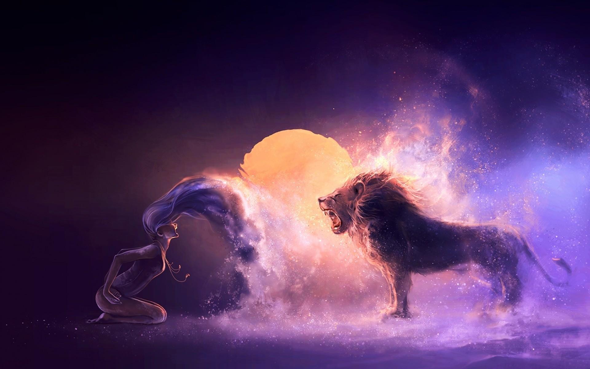 Download Leo Zodiac Wallpaper Hd Backgrounds Download Itl Cat
