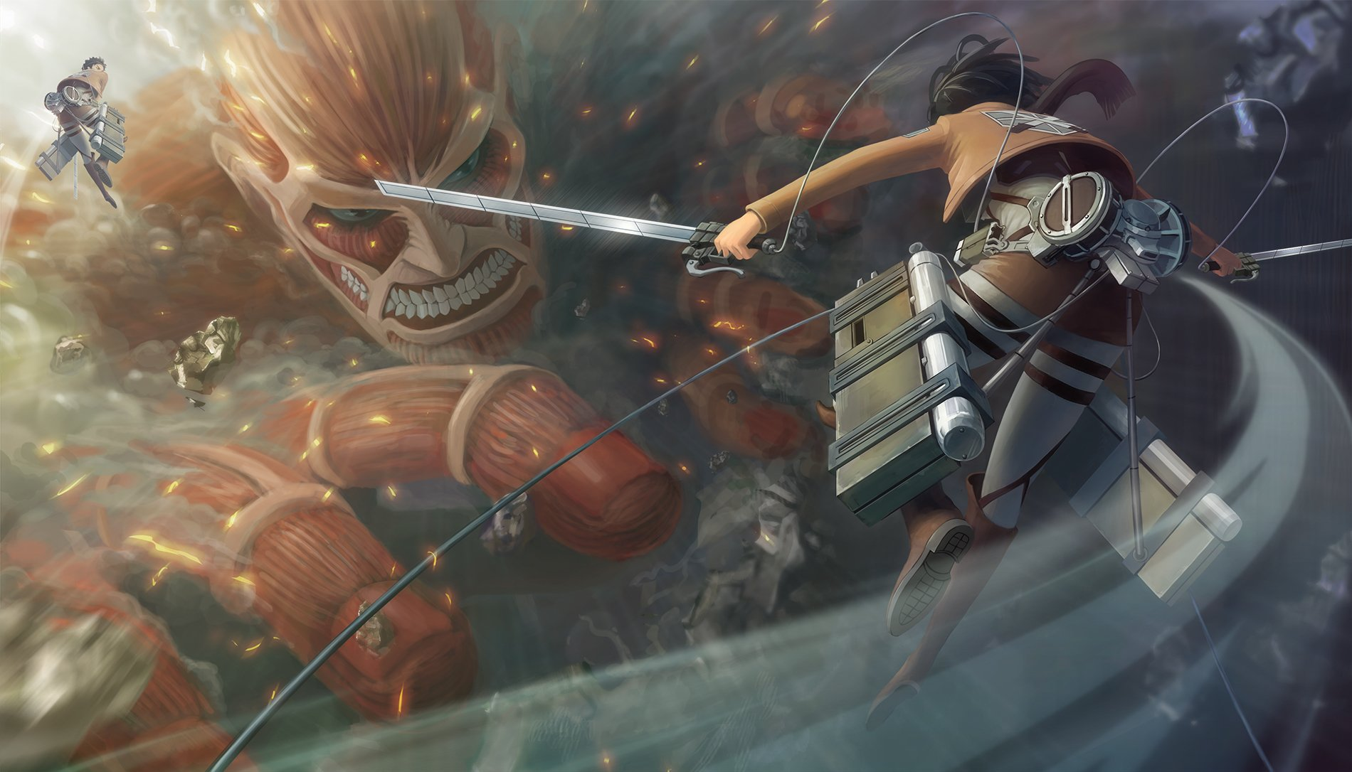 Download Colossal Titan Wallpaper Hd Backgrounds Download