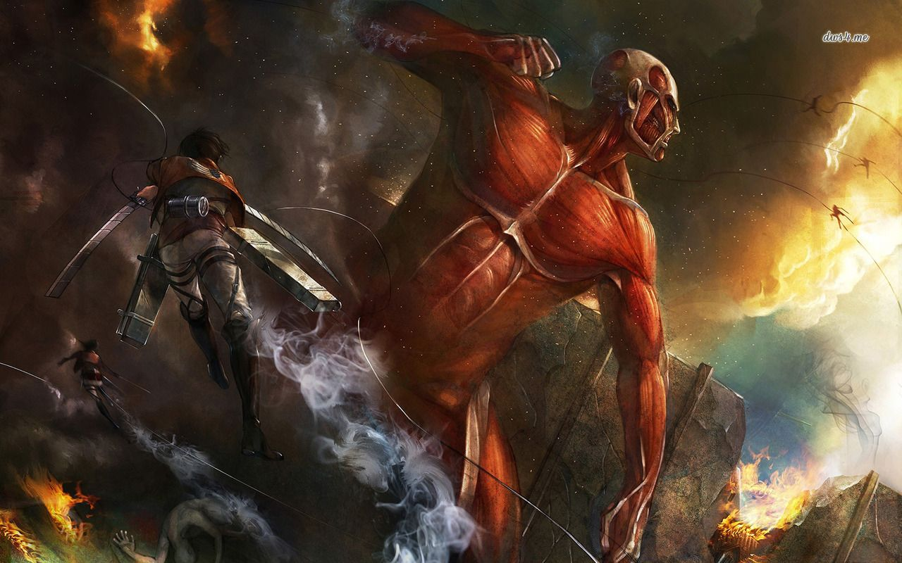 Download Colossal Titan Wallpaper Hd Backgrounds Download Itl Cat