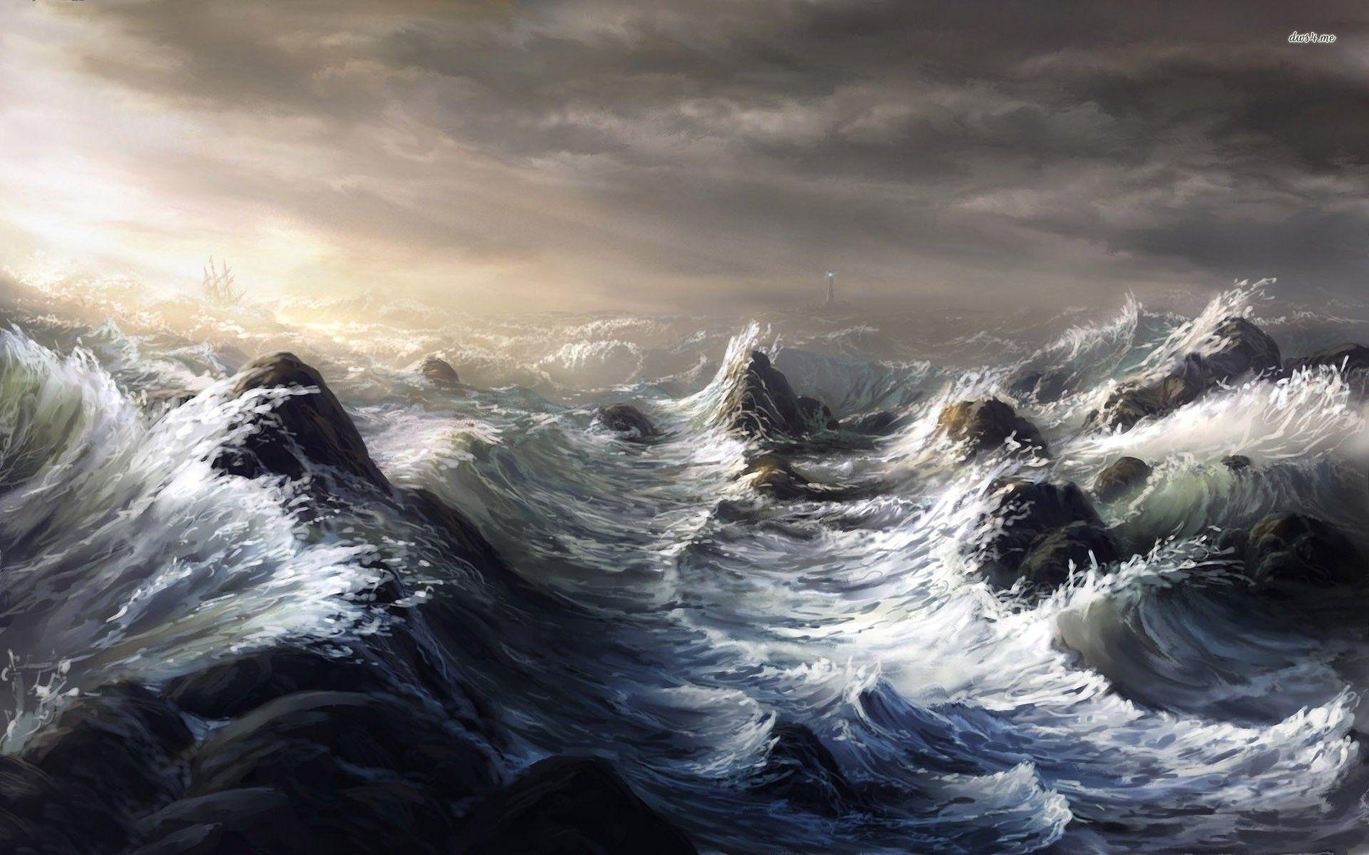 Download Sea Storm Wallpaper Hd Backgrounds Download Itlcat