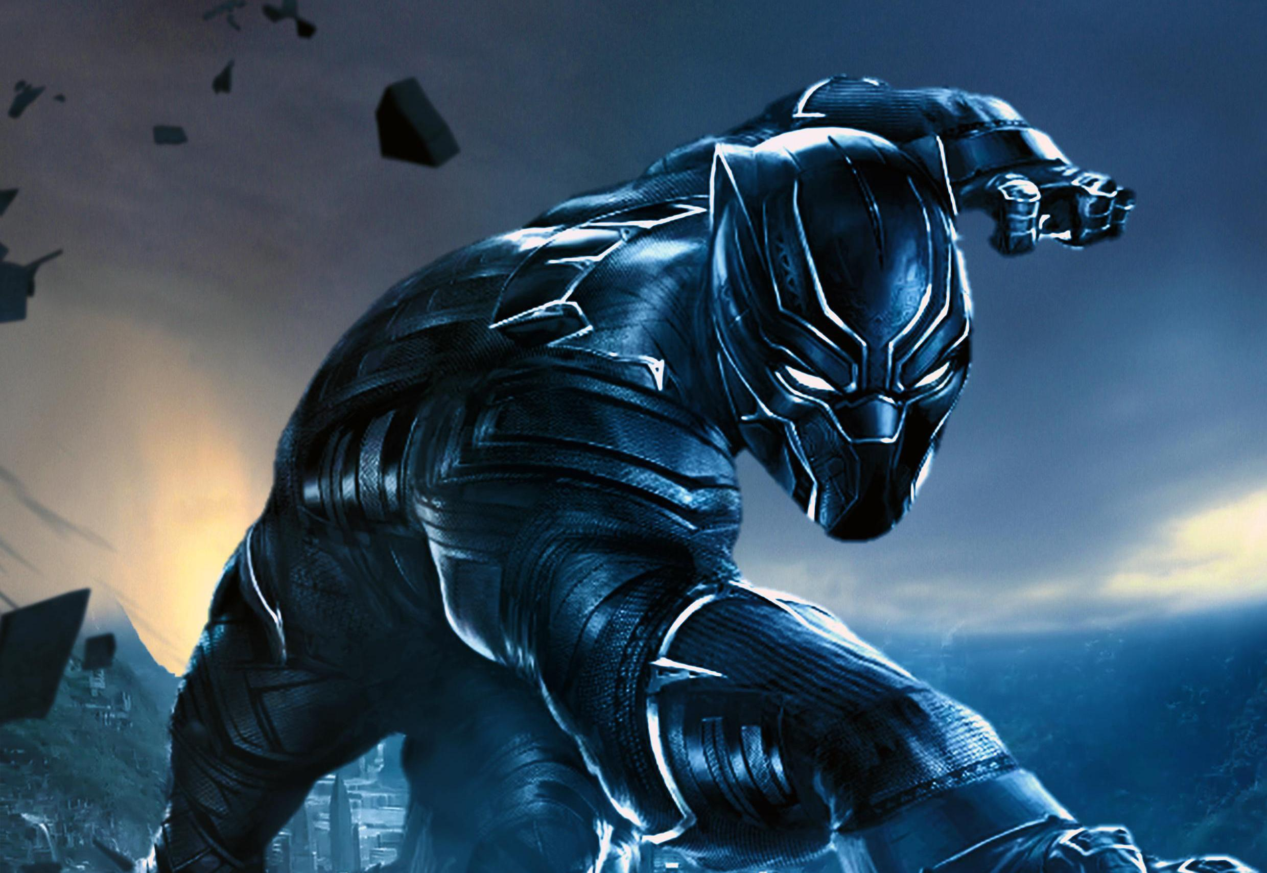 Download Black Panther Wallpaper Hd Backgrounds Download