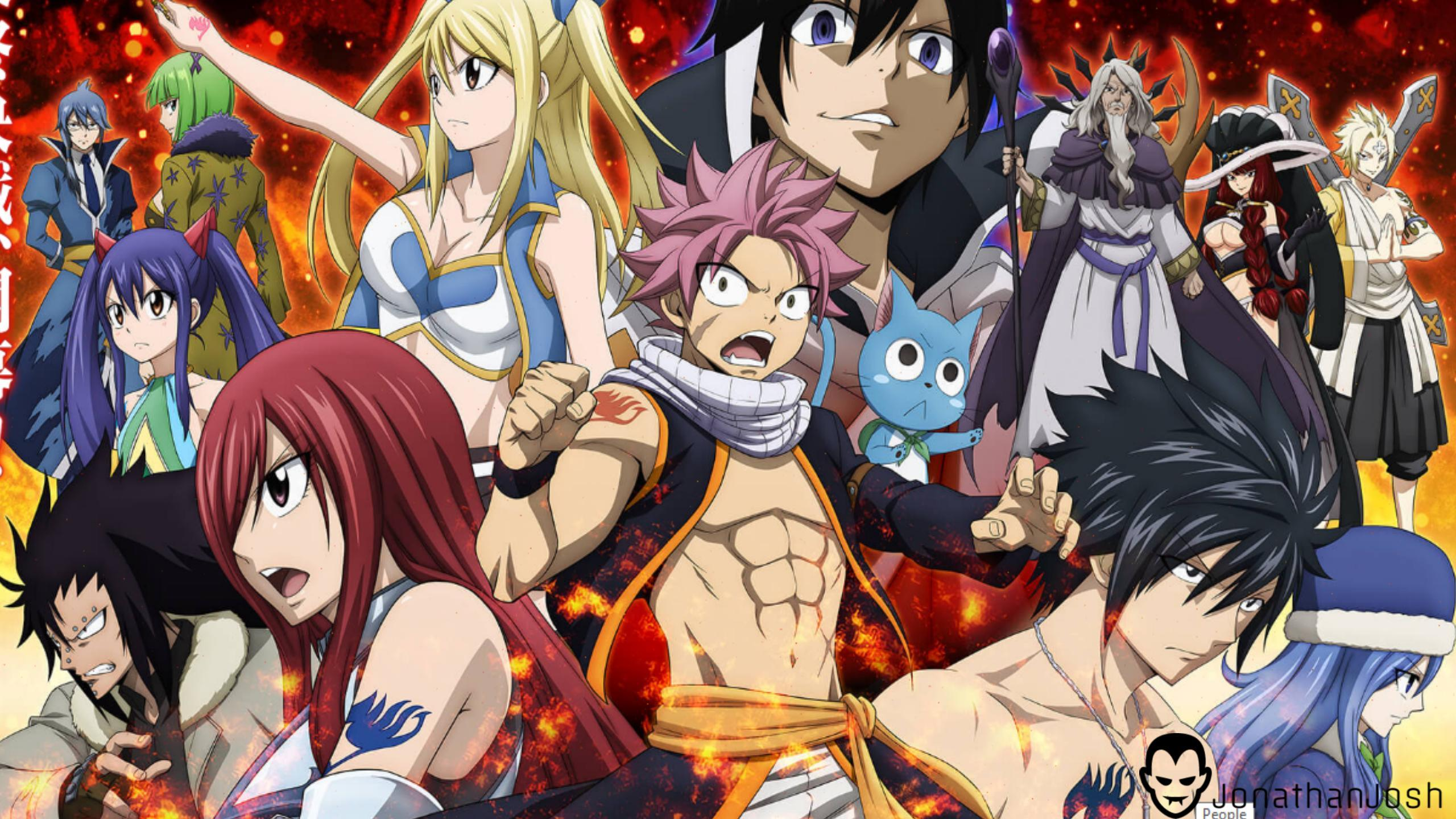 Download Fairy Tail Wallpaper Hd Backgrounds Download Itlcat