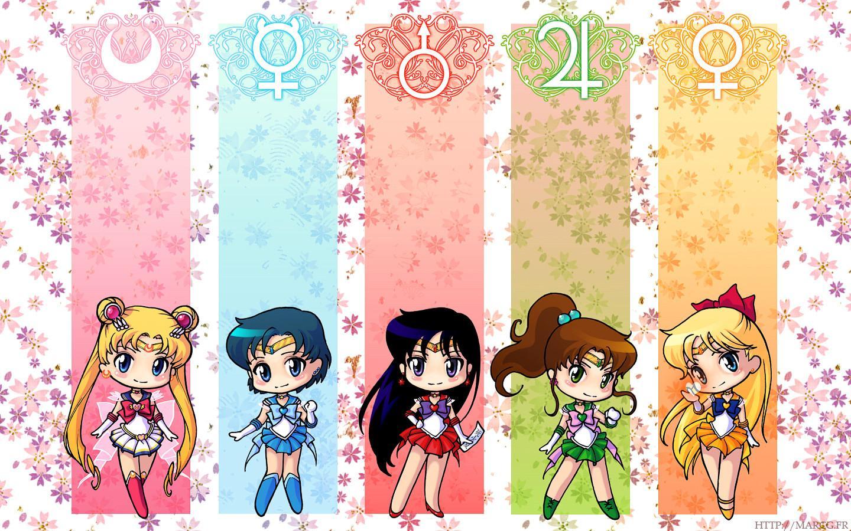 Sailor Moon Kawaii Laptop Background Gambarku