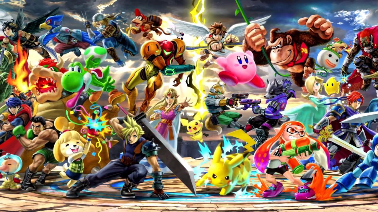 Download Super Smash Bros Ultimate Wallpaper Hd Backgrounds