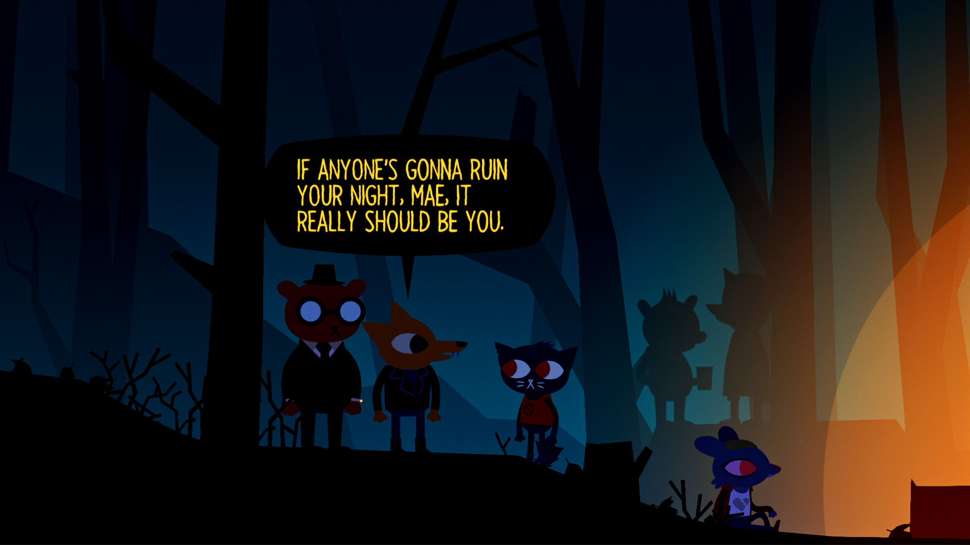 Download Night In The Woods Wallpaper Hd Backgrounds Download