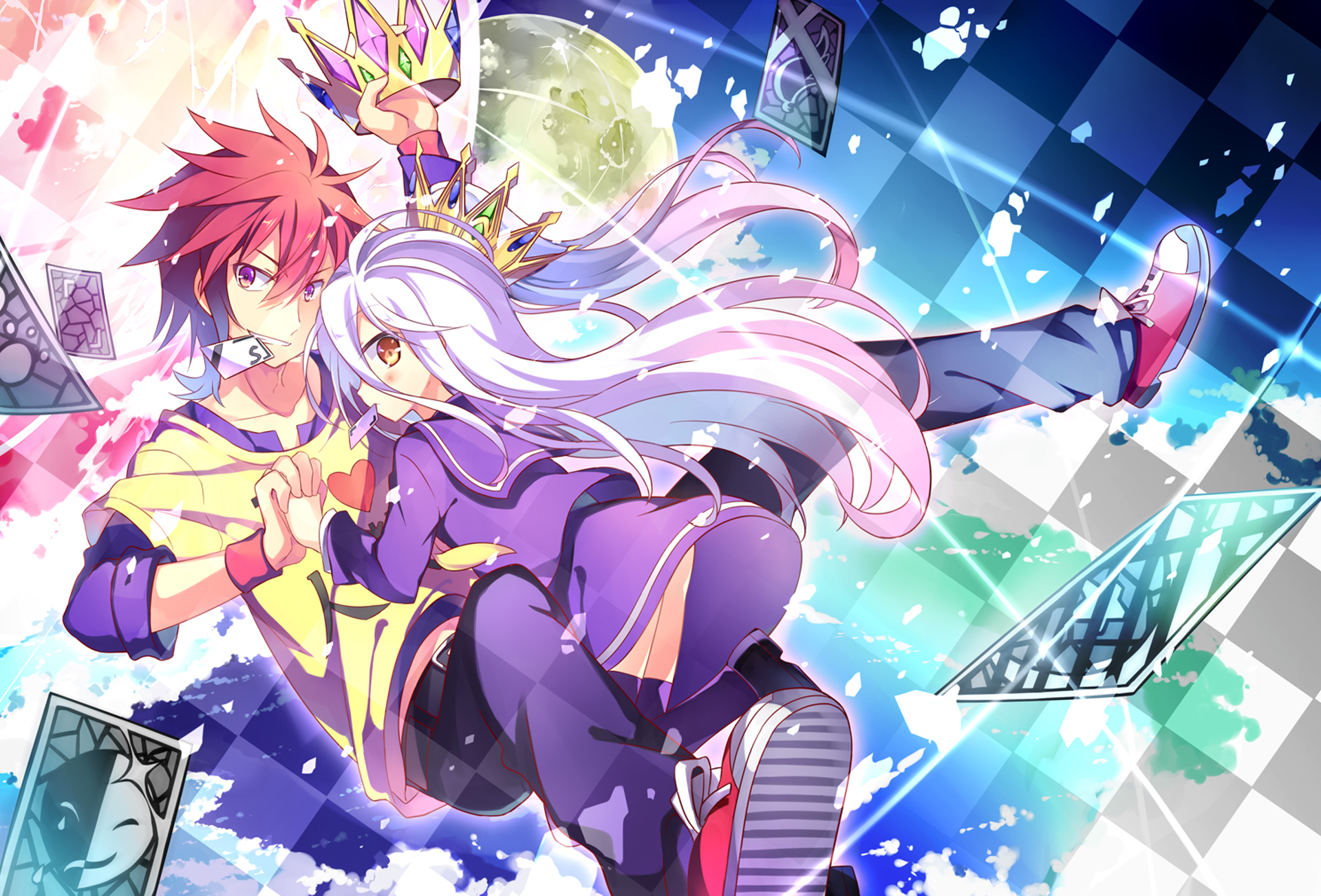 Download No Game No Life Wallpaper Hd Backgrounds Download