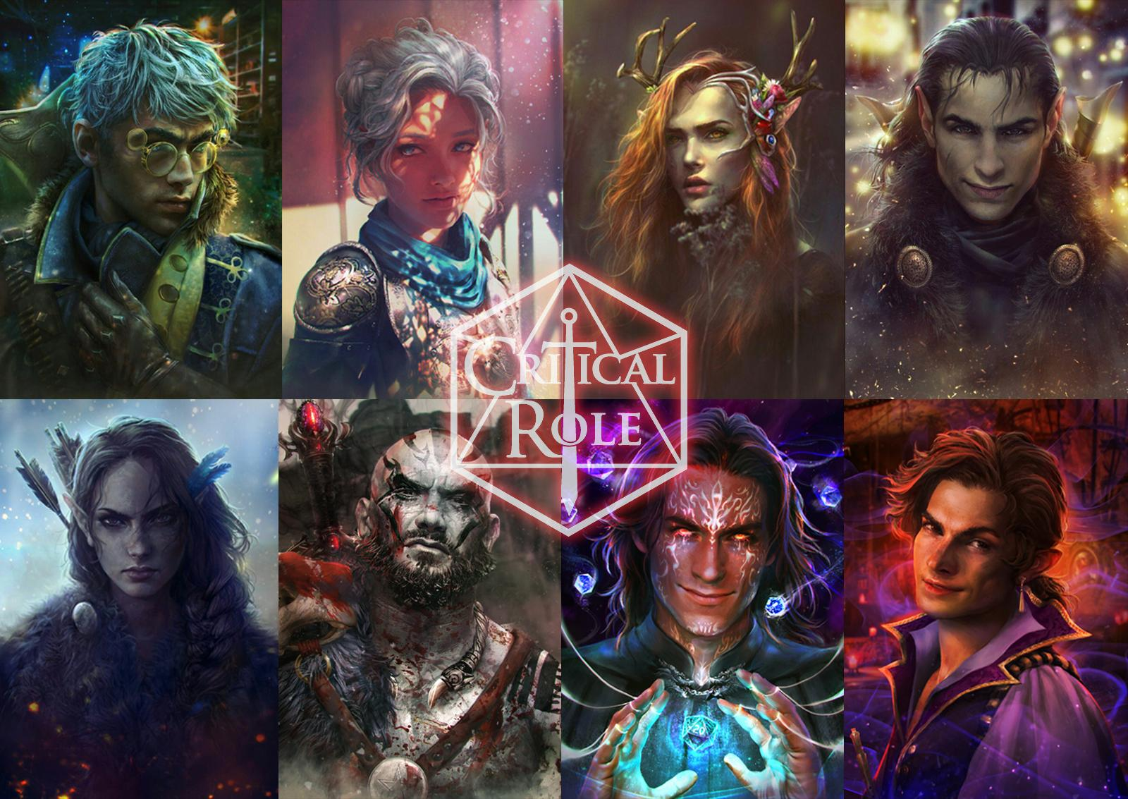 Download Critical Role Wallpaper Hd Backgrounds Download Itl Cat I was one of 70 artists in the criticla role 50th episode fan art gallery. download critical role wallpaper hd