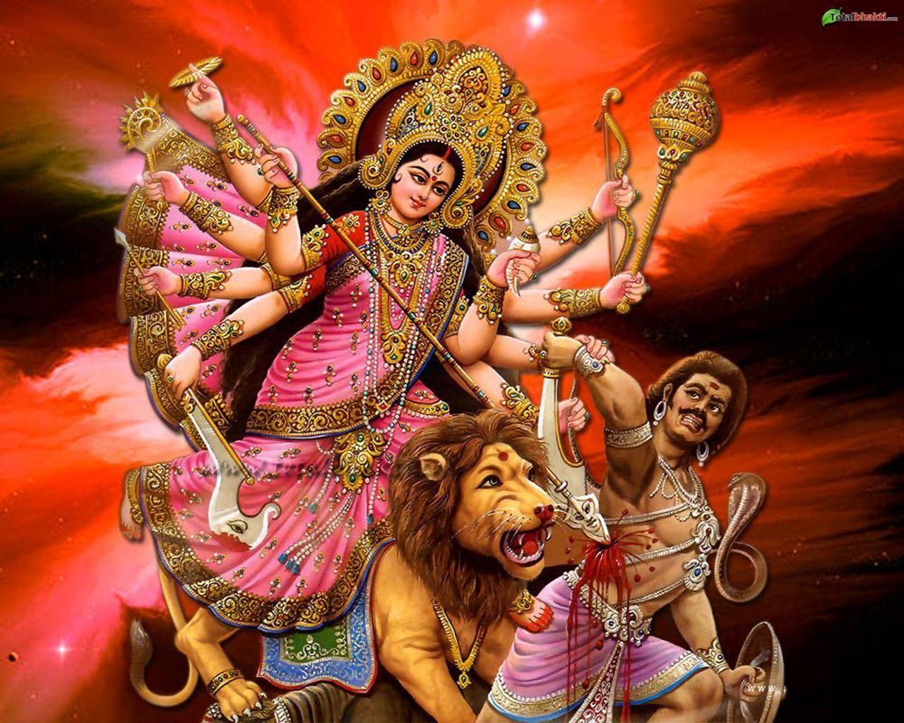 Download Hd Wallpaper Durga Maa Hd Backgrounds Download