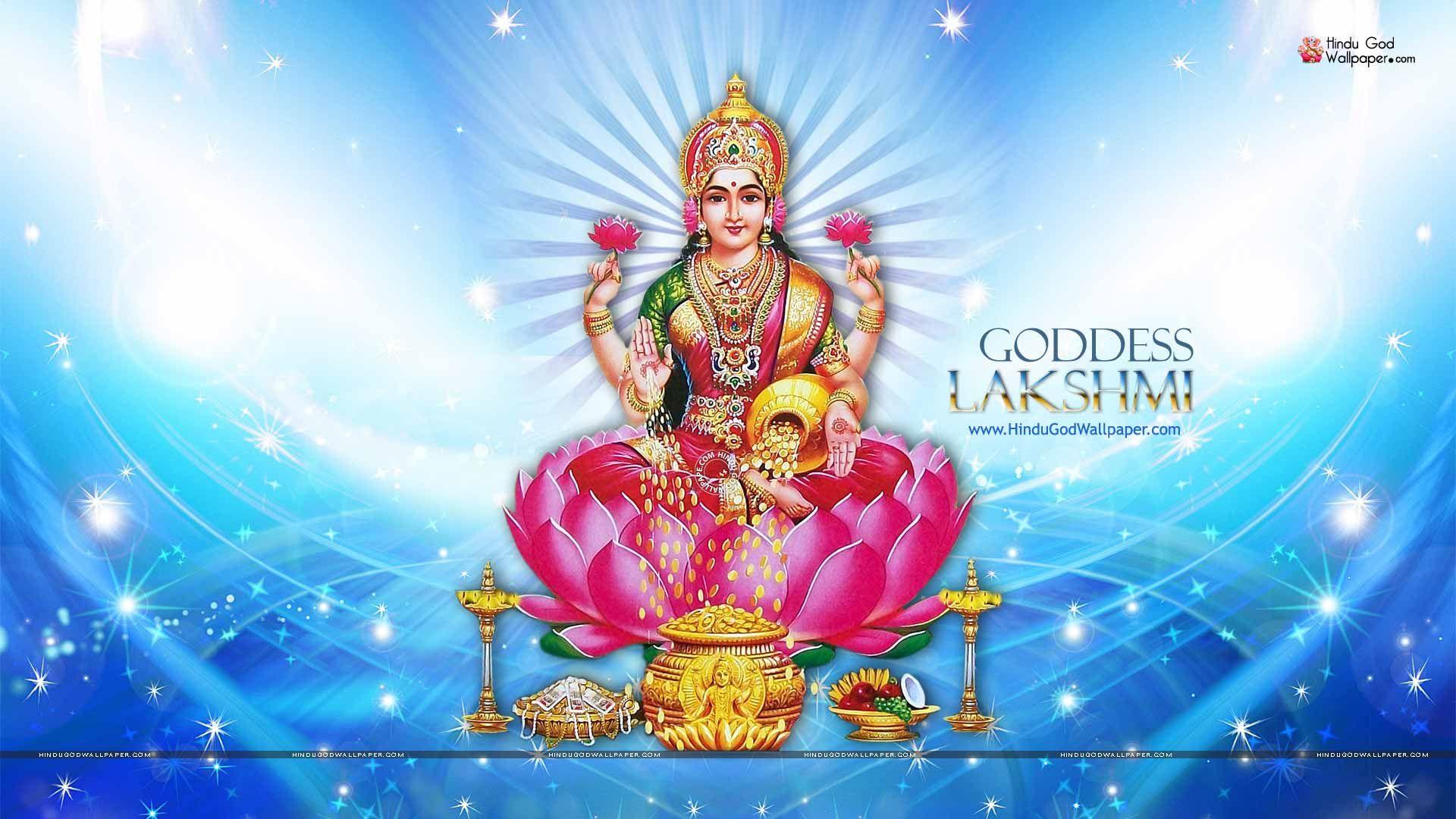 Download Hindu God Lakshmi Hd Wallpaper Hd Backgrounds