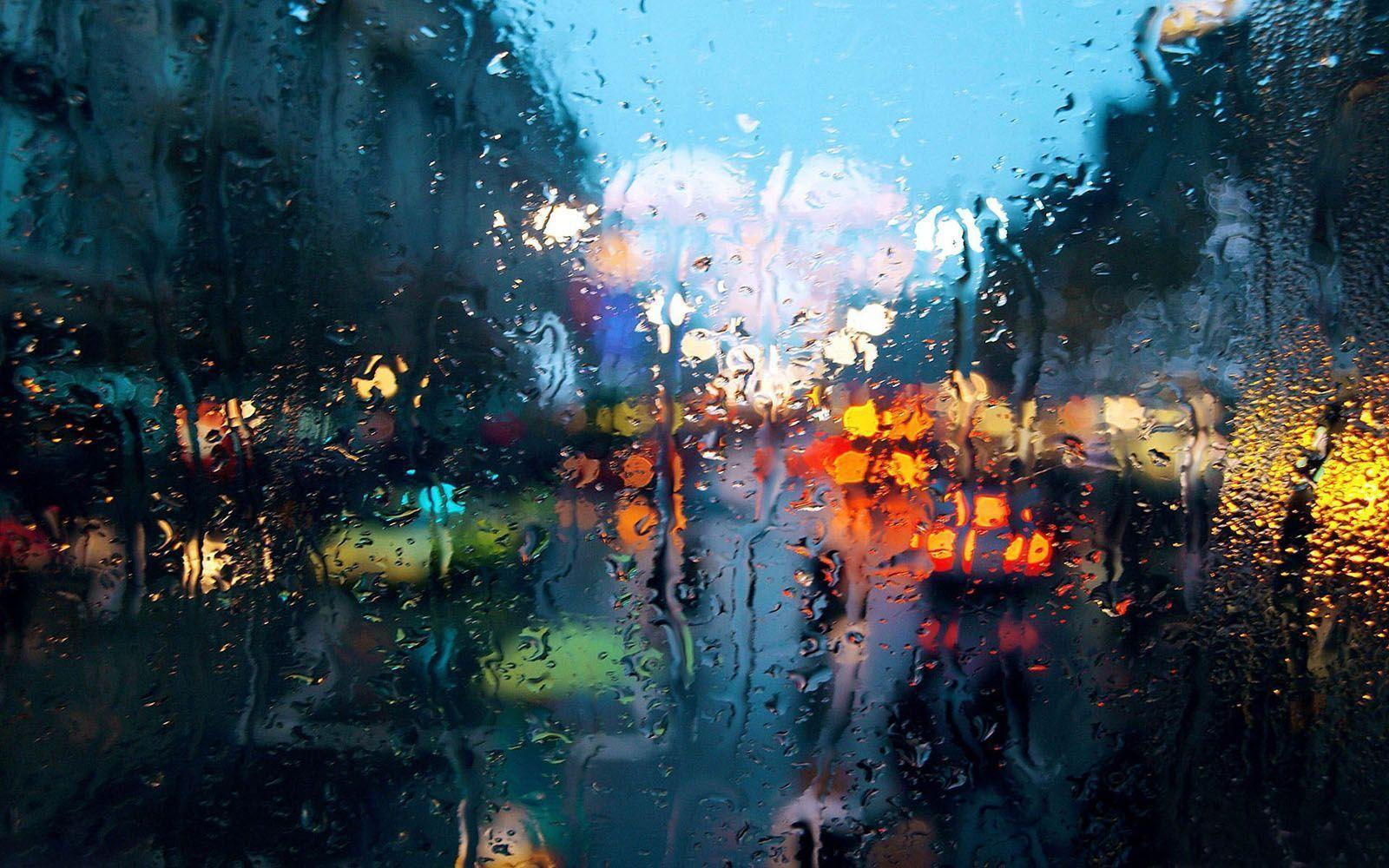 Download Rainy Glass Wallpaper Hd Backgrounds Download