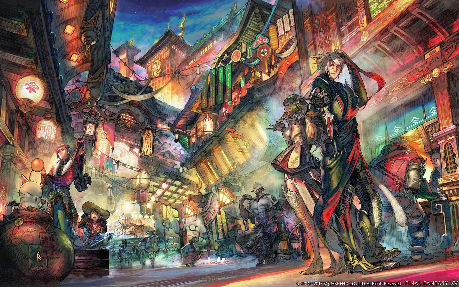 Download Final Fantasy Xiv Wallpaper Hd Backgrounds
