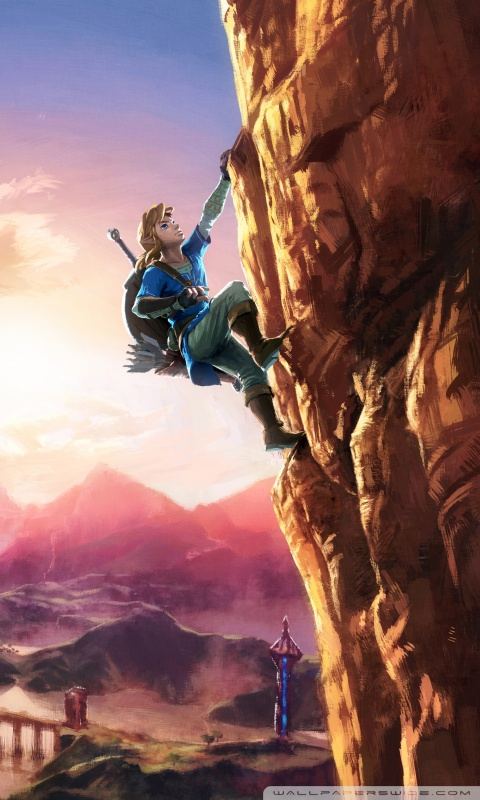 Download Breath Of The Wild Phone Wallpaper Hd Backgrounds