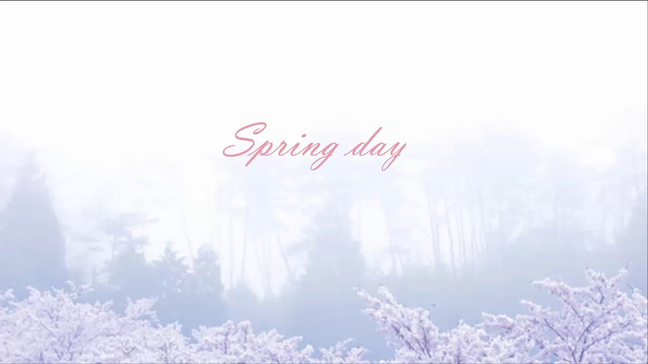 Download Bts Spring Day Wallpaper Hd Backgrounds Download Itl Cat