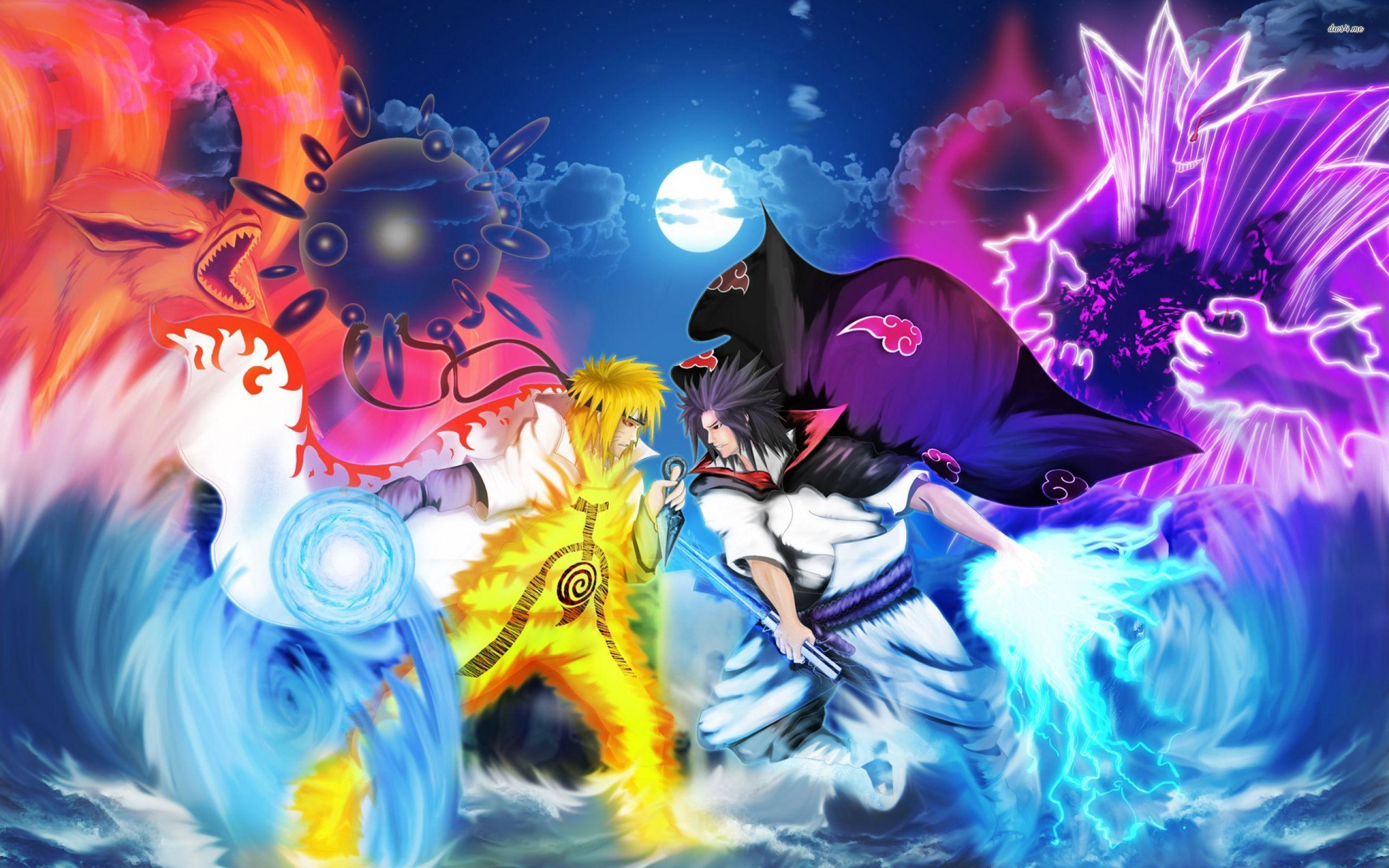 312175 naruto and sasuke wallpaper