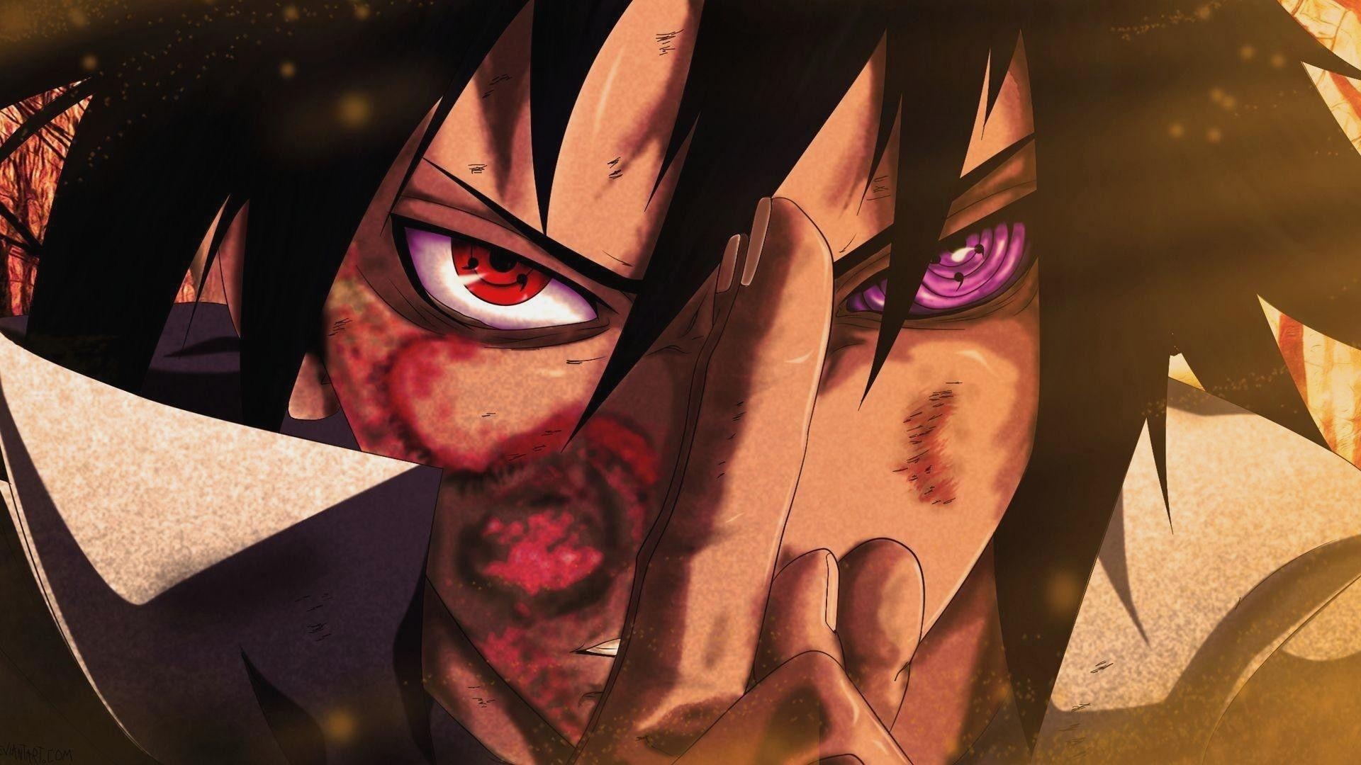 312264 naruto and sasuke wallpaper