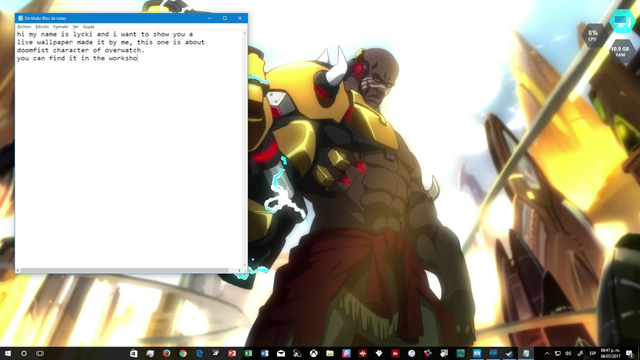 Download Doomfist Wallpaper Hd Backgrounds Download Itlcat