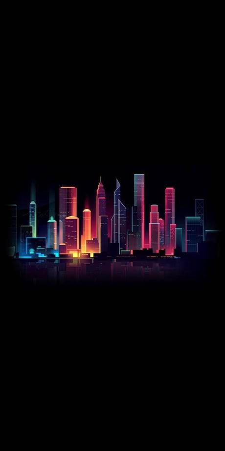 Download Neon City Wallpaper Hd Backgrounds Download Itl Cat