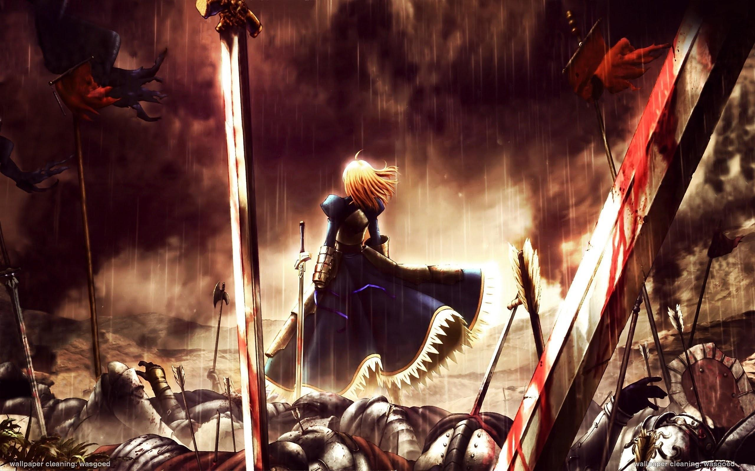 Download Unlimited Blade Works Wallpaper Hd Backgrounds Download