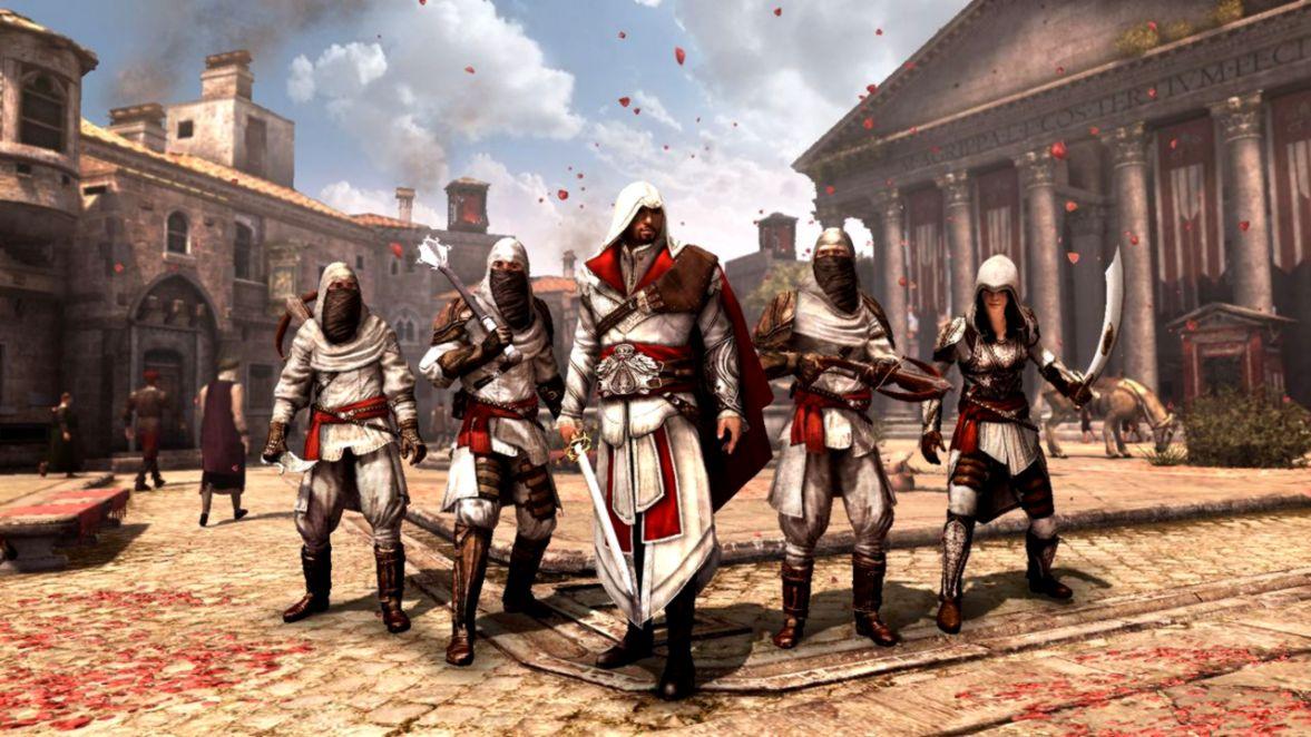 Download Assassin S Creed Brotherhood Wallpaper Hd