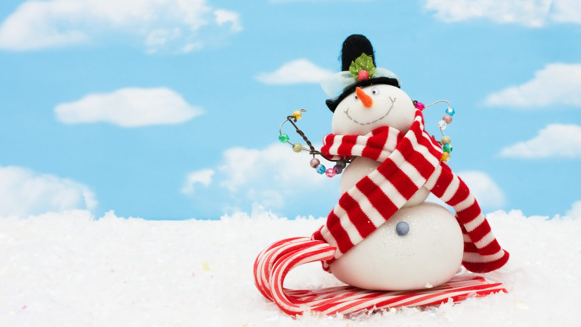 Download Winter Snowman Wallpaper Hd Backgrounds Download