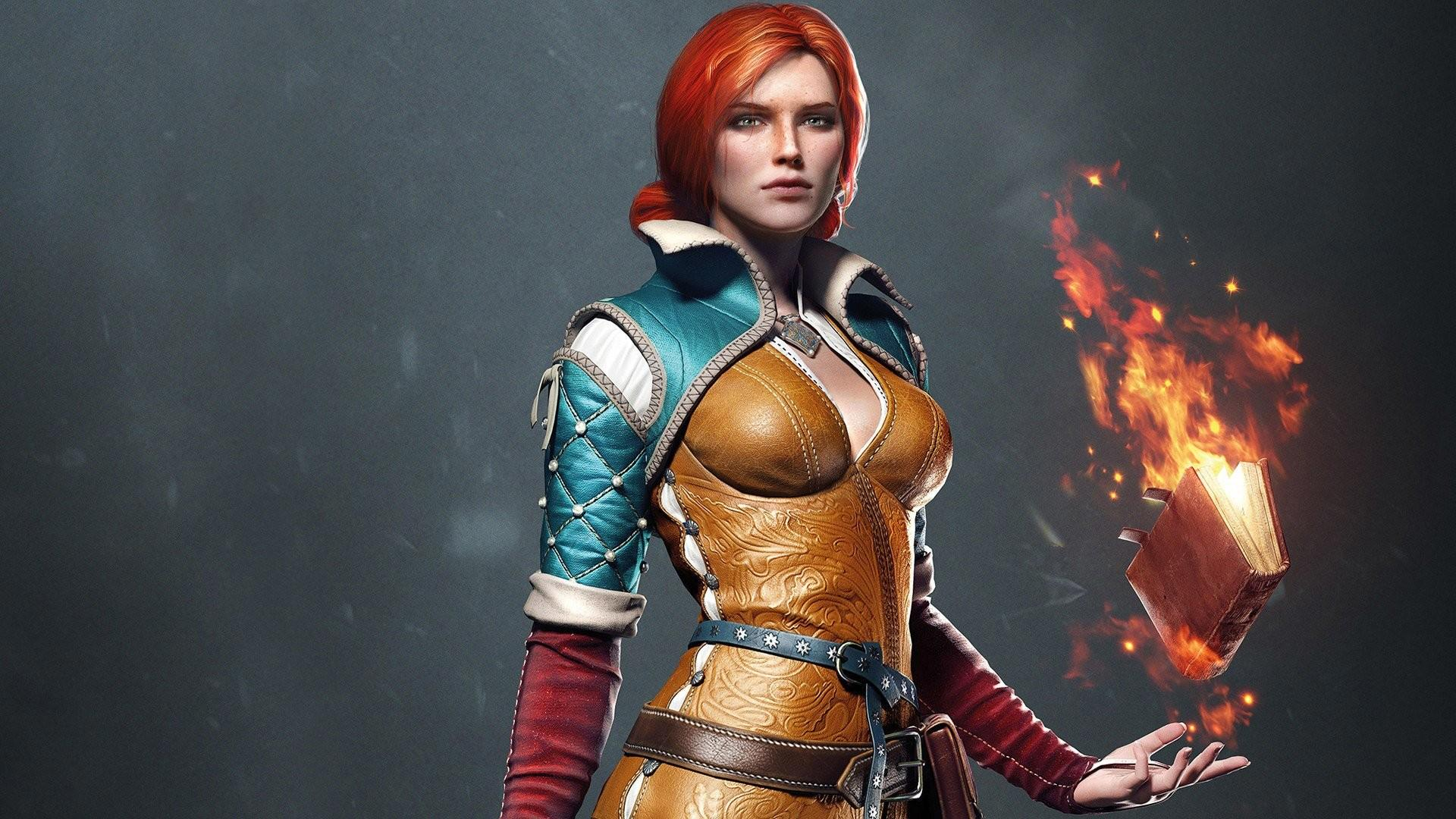 Download The Witcher 3 Triss Wallpaper Hd Backgrounds