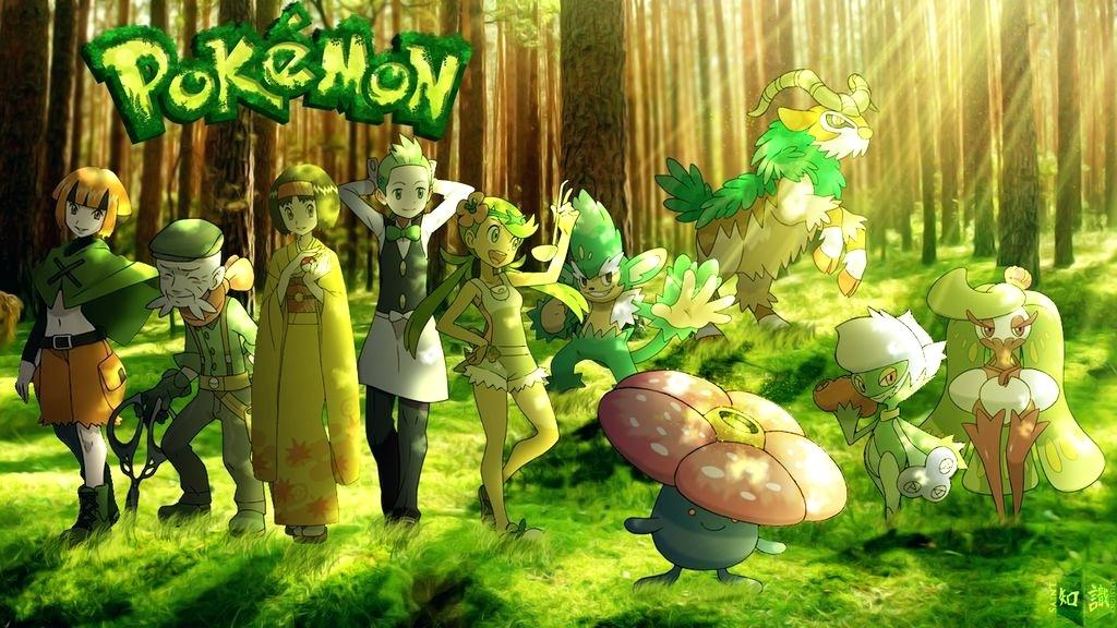 Download Pokemon Grass Type Wallpaper Hd Backgrounds Download