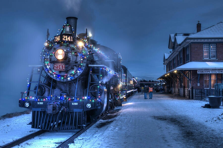 Download Christmas Train Wallpaper Hd Backgrounds Download Itl Cat