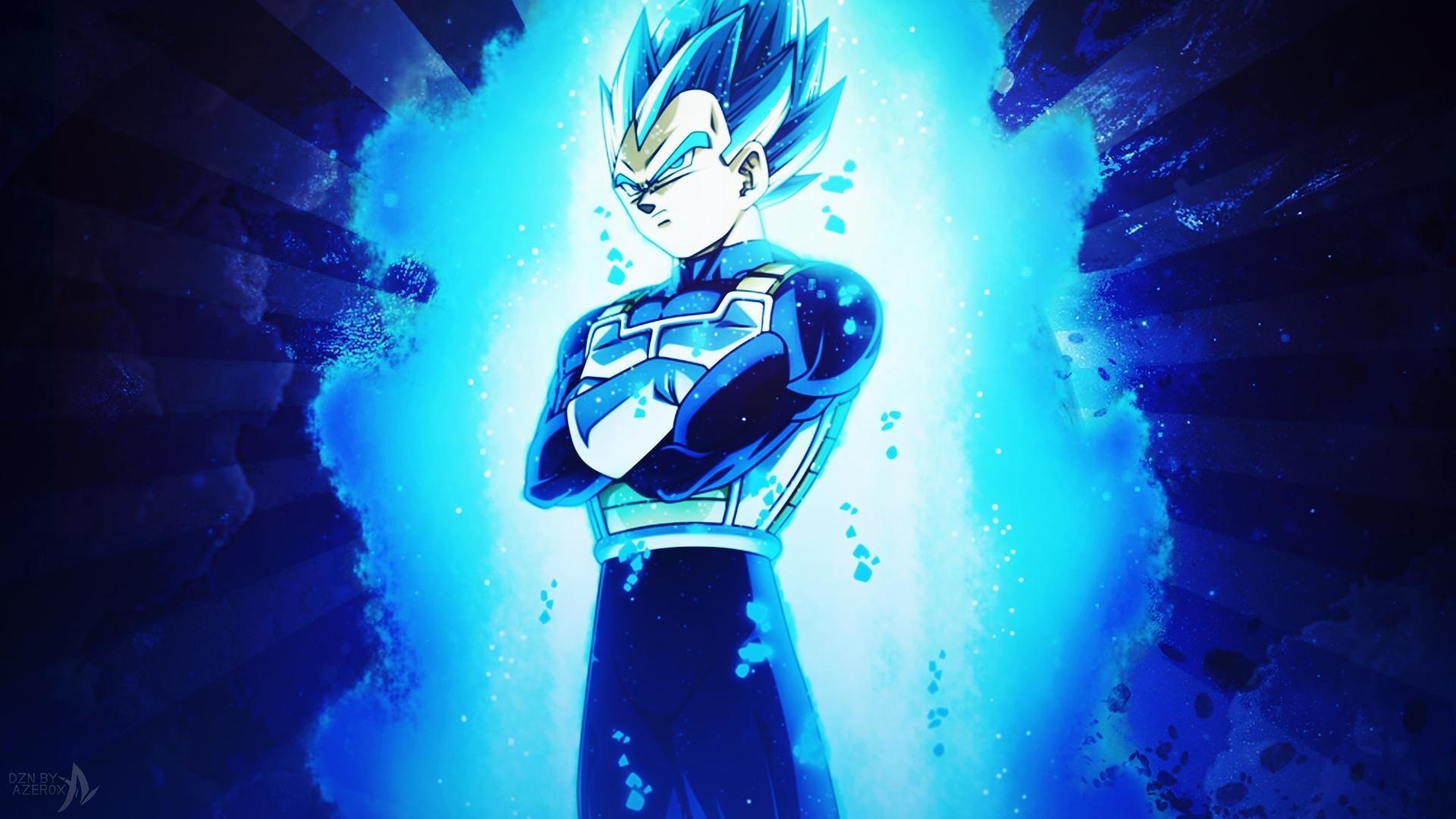 Download Vegeta Super Saiyan Blue Wallpaper Hd Backgrounds