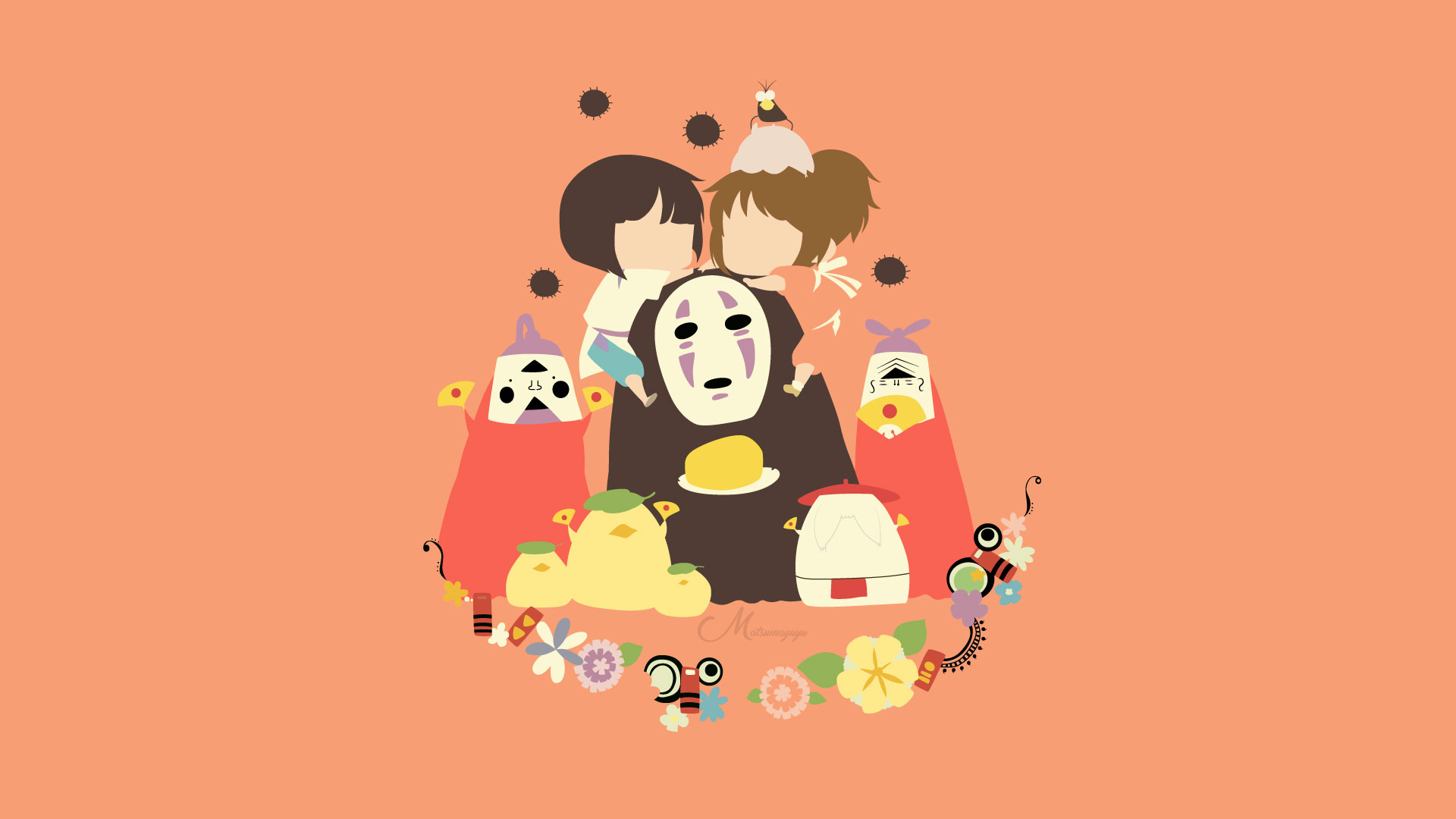 Download No Face Spirited Away Wallpaper Hd Backgrounds Download