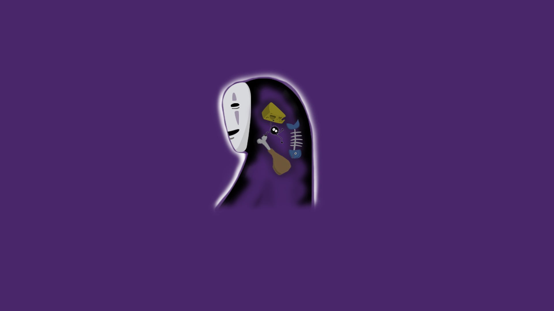 Download No Face Spirited Away Wallpaper Hd Backgrounds Download Itl Cat
