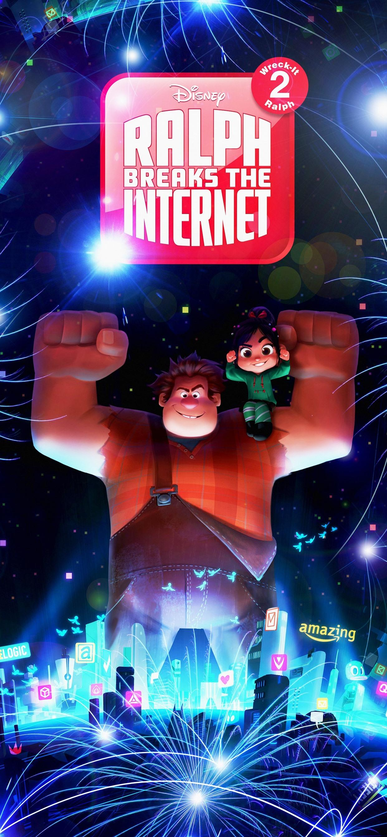 Download Ralph Breaks The Internet Wallpaper Hd Backgrounds