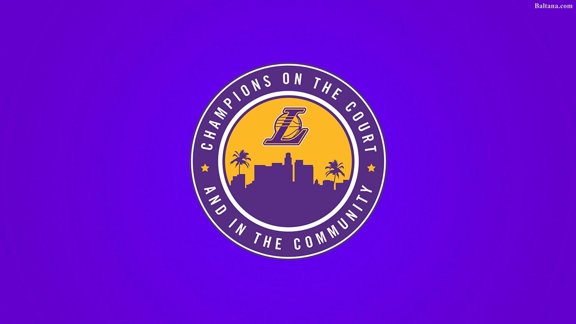 Download La Lakers Wallpaper Hd Hd Backgrounds Download Itl Cat